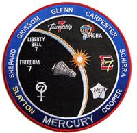"NASA Project Mercury Commemorative 8"" Patch"